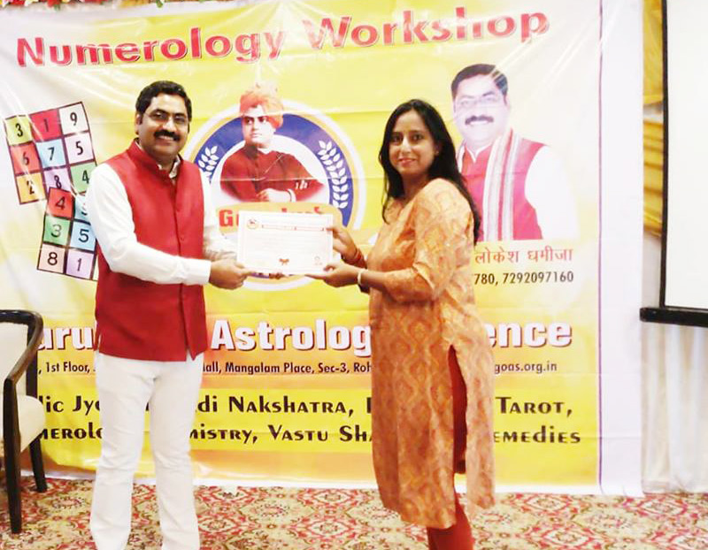 Numerology Course, Learn Vedic Numerology Training Institute