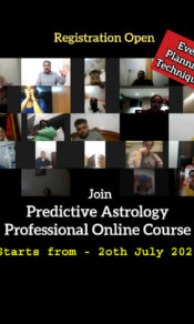 Predictive Astrology Course